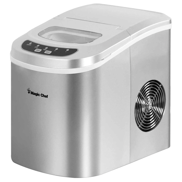 Magic Chef(R) MCIM22SV 27lb-Capacity Portable Ice Maker