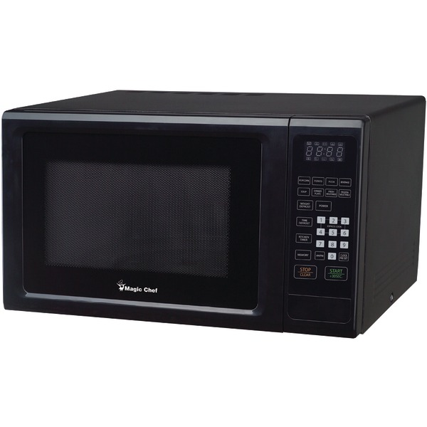 Magic Chef(R) MCM1110B 1.1 Cubic-ft, 1,000-Watt Microwave with Digital Touch (Black)