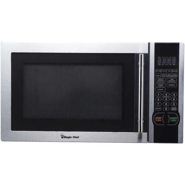 Magic Chef(R) MCM1110ST 1.1 Cubic-ft, 1,000-Watt Microwave with Digital Touch (Stainless Steel)