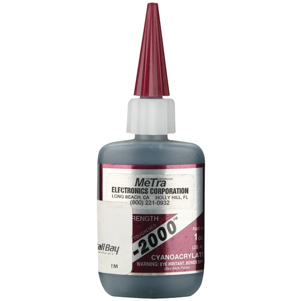 Install Bay(R) IC-2000 Instant Rubber Tough Black Glue, 1oz
