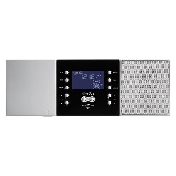 M&S Systems(R) DMC3-4 3- or 4-Wire Retrofit Music/Communication System Master Unit (White)
