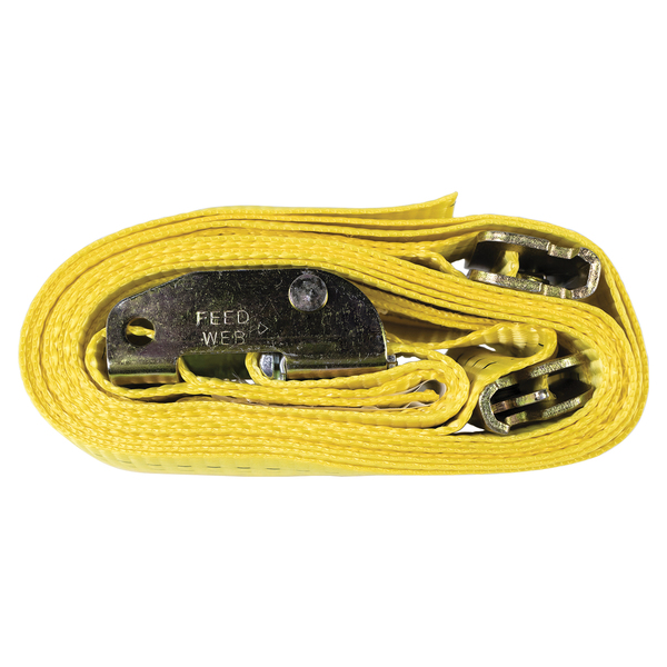 Monster Trucks(TM) MT10201 Cambuckle Strap (12ft, Yellow)