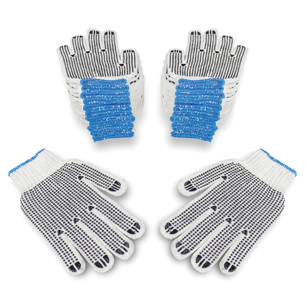 Monster Trucks(TM) MT10300 Knitted Gloves with PVC Dots, 12 pk