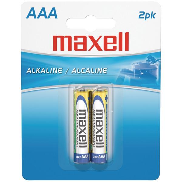 Maxell(R) 723807 - LR032BP Alkaline Batteries (AAA; 2 pk; Carded)