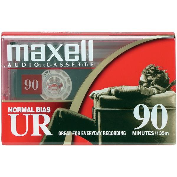 Maxell(R) 108510 Normal-Bias Cassette Tape (Single)