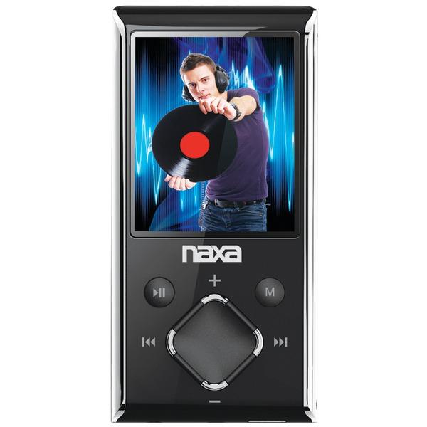 "Naxa(R) NMV173NSL 8GB 1.8"" LCD Portable Media Players (Silver)"