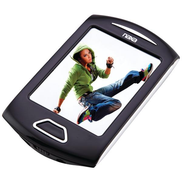 "Naxa(R) NMV179SL 8GB 2.8"" Touchscreen Portable Media Players (Silver)"