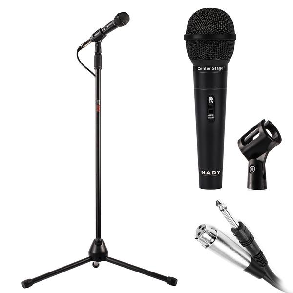 Nady(R) CenterStage MSC3 CenterStage(TM) MSC3 Professional Quality Microphone Kit