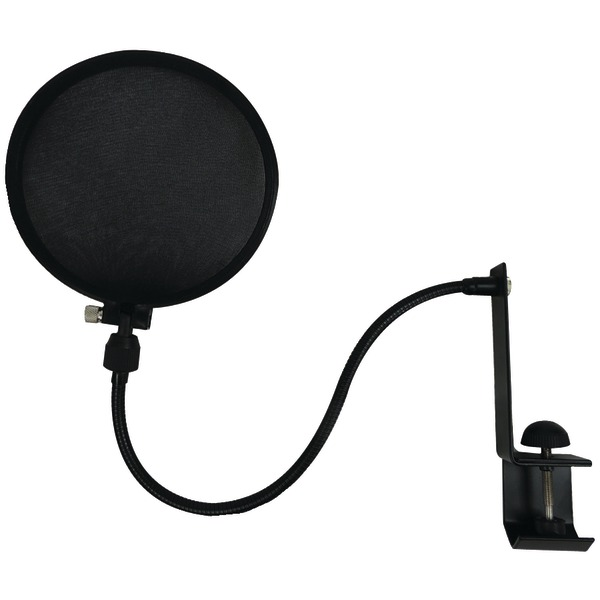 Nady(R) SPF-1 Microphone Pop Filter with Boom & Stand Clamp