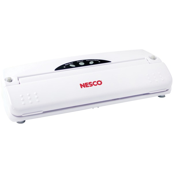 Nesco VS-01 Vacuum Sealer (110-Watt; White) - # VS-01 - # VS-01