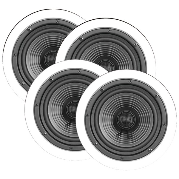 "ArchiTech(R) x-4BULK 6.5"" Premium Series Ceiling Speakers, Contractor 4 pk"