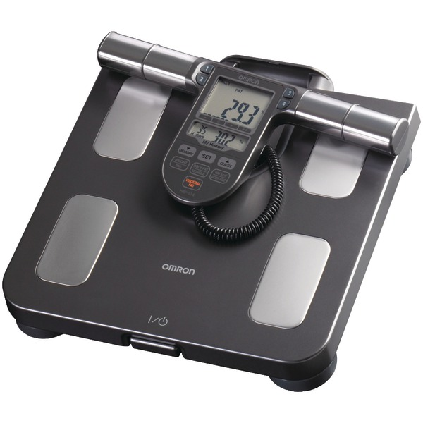 Omron(R) HBF-514C Full-Body Sensor Body Composition Monitor & Scale with 7 Fitness Indicators (90-Day Memory)