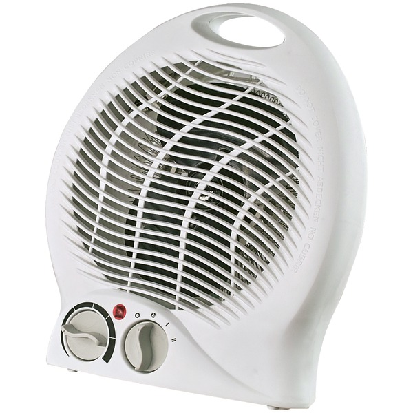 Optimus H-1322 Portable Fan Heater with Thermostat