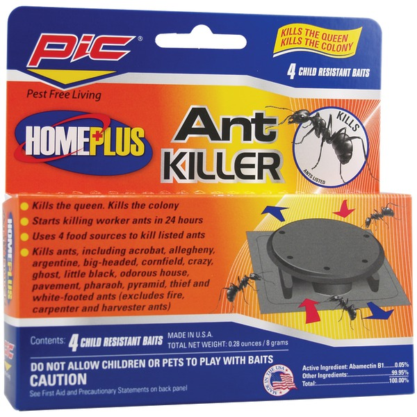 PIC(R) AT-4AB Plastic Ant Killing Bait Stations