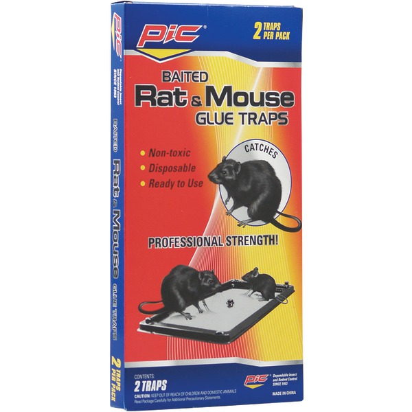 PIC(R) GT-2 Rat & Mouse Glue Trays, 2 pk