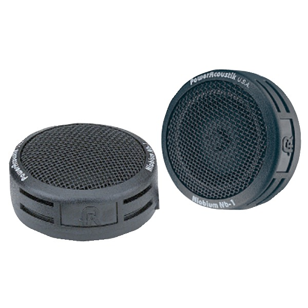 Power Acoustik(R) NB-1 200-Watt 2-Way Mount Tweeters