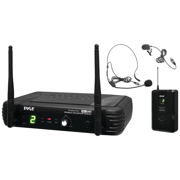 Pyle Pro(R) PDWM1904 Premier Series Professional UHF Wireless Body-Pack Transmitter Microphone System