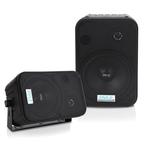 Pyle(R) PDWR50B 6.5'' Indoor/Outdoor Waterproof Speakers (Black)