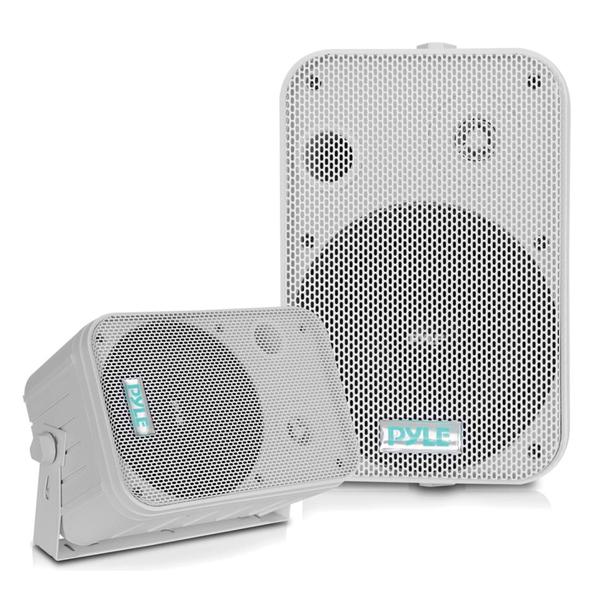 "Pyle(R) PDWR50W 6.5"" Indoor/Outdoor Waterproof Speakers (White)"