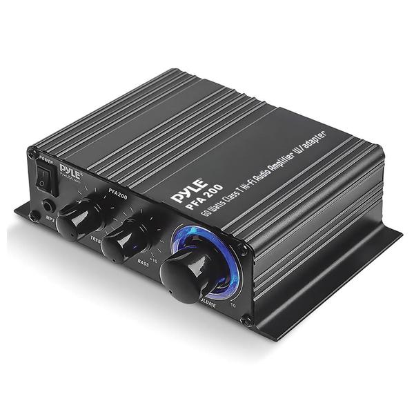 Pyle Home(R) PFA200 60-Watt Class-T Hi-Fi Audio Amp