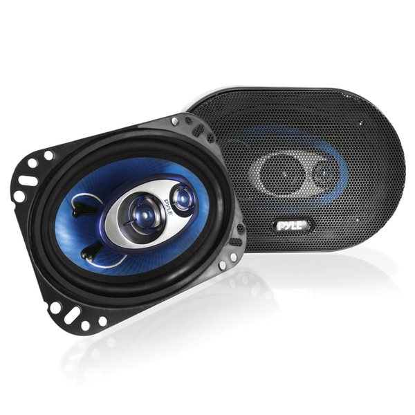 "Pyle(R) PL463BL Blue Label Speakers (4"" x 6"", 3 Way)"