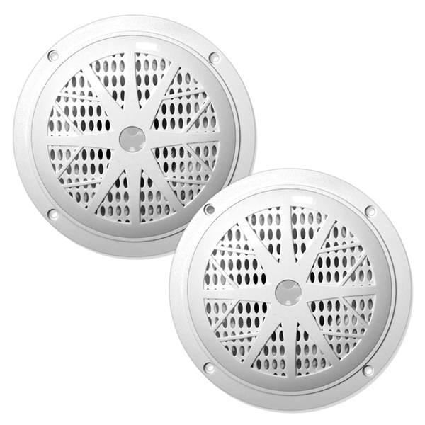 "Pyle(R) PLMR61W Hydra Series Dual-Cone Waterproof Stereo Speakers (6.5"")"