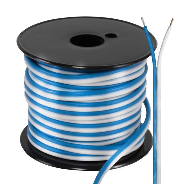 Pyle(R) PLMRSW50 Hydra Series 18-Gauge Marine-Grade Stereo Speaker Wire, 50ft