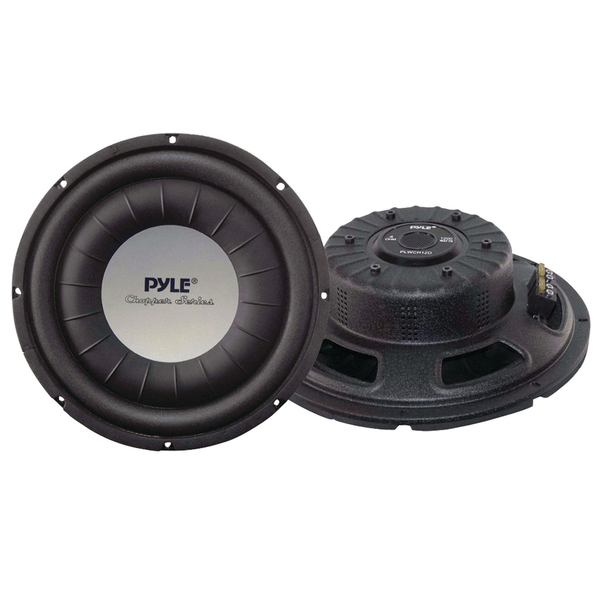 "Pyle(R) PLWCH12D Chopper Series Shallow-Mount Subwoofer (12"", 1,200 Watts)"