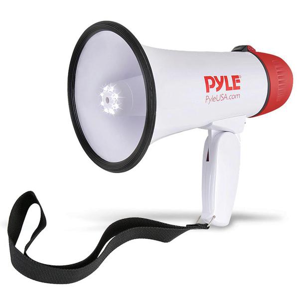 Pyle Pro(R) PMP37LED 30-Watt Mini Compact Megaphone/Bullhorn