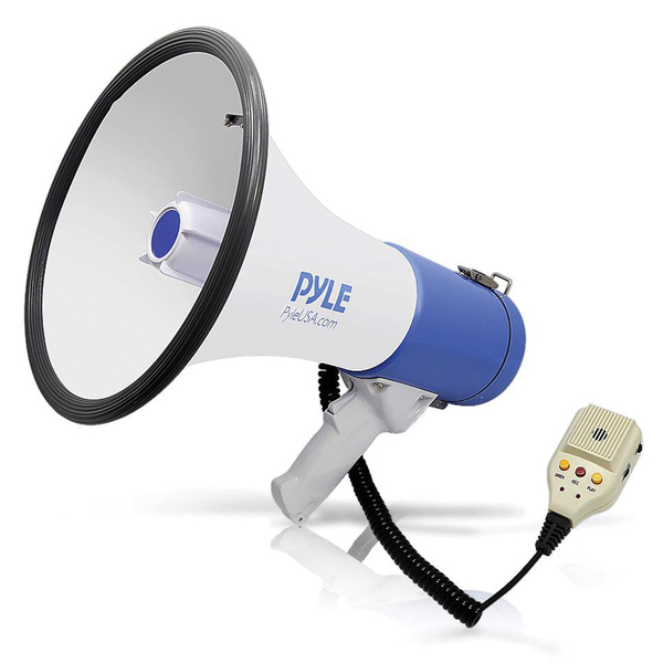 Pyle Pro(R) PMP59IR 50-Watt Megaphone Bullhorn with Record, Siren & Talk Modes