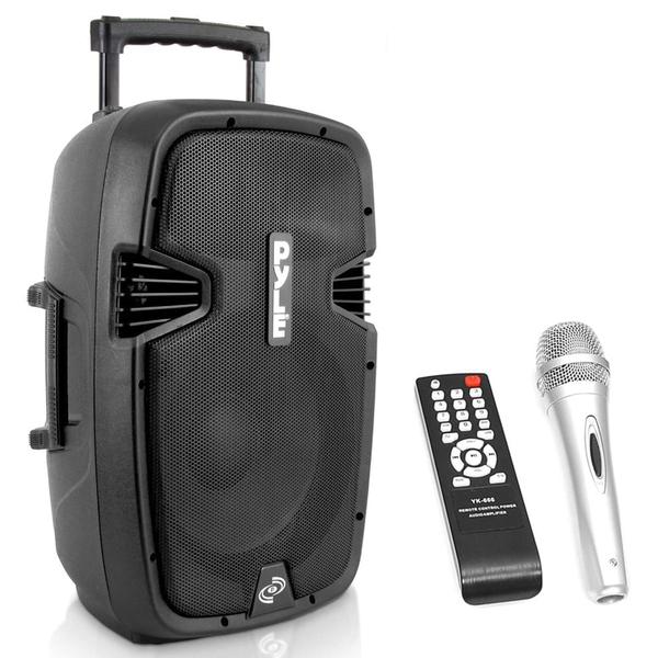 Pyle Pro(R) PPHP152BMU 1,000-Watt Portable Bluetooth(R) PA Loudspeaker System