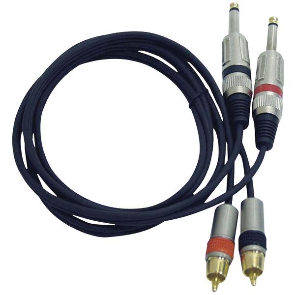 Pyle Pro(R) PPRCJ05 Dual RCA Audio Cable, 5ft