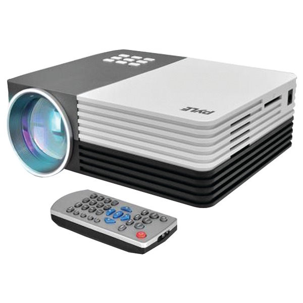 "Pyle Home(R) PRJG65 1080p HD Digital Multimedia Projector with up to 120"" Display"