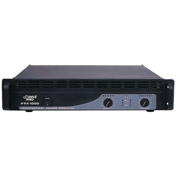 Pyle Pro(R) PTA1000 Professional Power Amp (1,000 Watt)