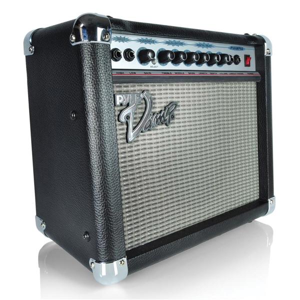 "Pyle Pro(R) PVAMP60 Vamp Series Amp (8"" Speaker; 60-Watt with 3-Band EQ, Overdrive & Digital Delay)"