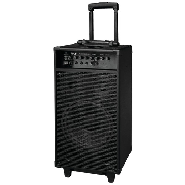 Pyle Pro(R) PWMA1080IBT 800-Watt Portable Bluetooth(R) PA Speaker System