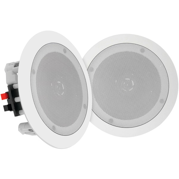 "Pyle Home(R) PDICBT652RD 6.5"" Bluetooth(R) Ceiling/Wall Speakers"