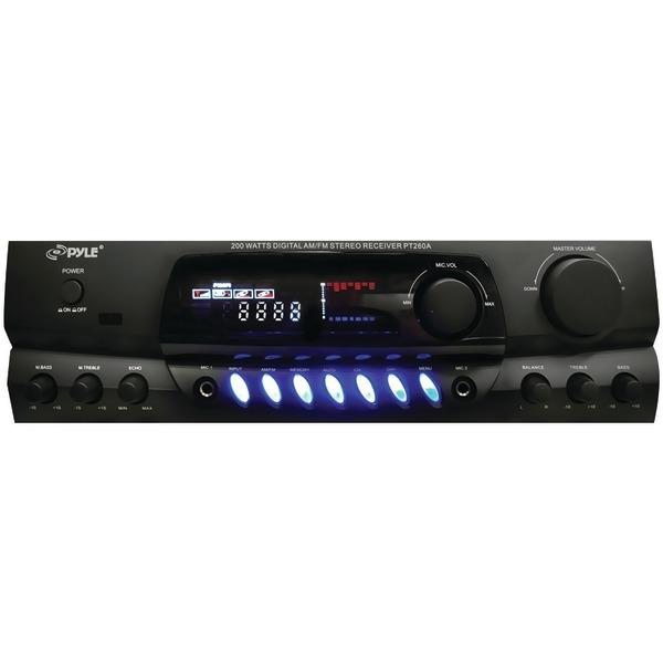 Pyle Home(R) PT260A 200-Watt Digital Stereo Receiver