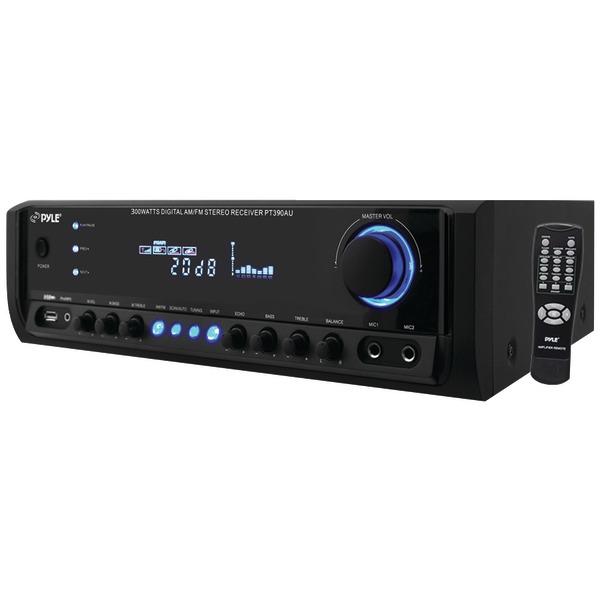 Pyle Home(R) PT390AU 300-Watt Digital Home Stereo Receiver System