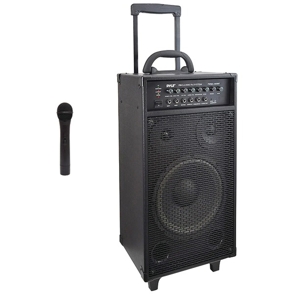 Pyle Pro(R) PWMA1050BT Wireless Portable Bluetooth(R) PA Speaker System