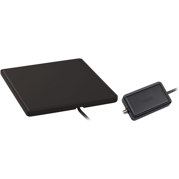RCA(R) ANT1450B/E Multidirectional Amplified Indoor Flat HDTV Antenna