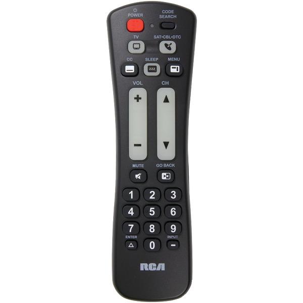 RCA(R) RCRH02BR 2-Device Universal Remote