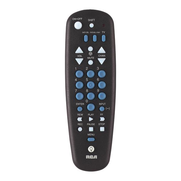 RCA(R) RCU300TR 3-Device Universal Remote