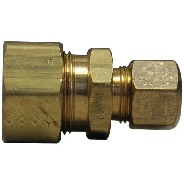 "No Logo 62-R-106-LF Compression Reducing Union (3/8"" x 5/8"")"