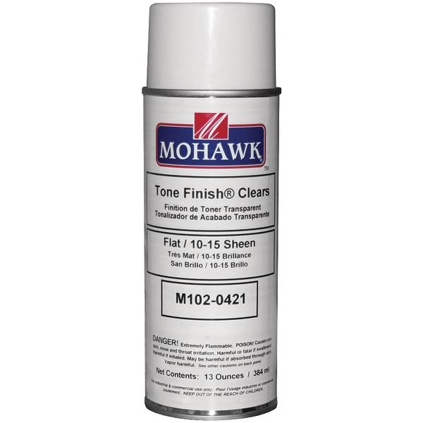 Mohawk(R) Finishing Products M102-0421 Clear Flat Lacquer Spray