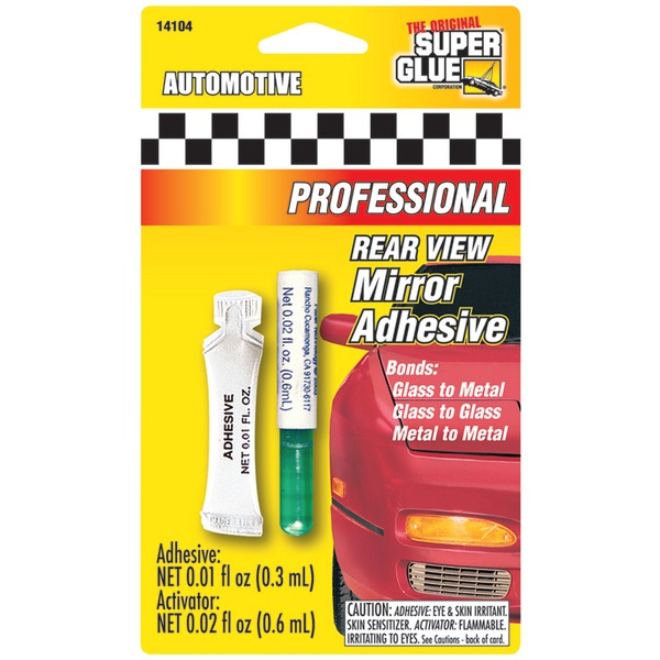 The Original SuperGlue(R) 141041-12 Automotive Rearview Mirror Adhesive