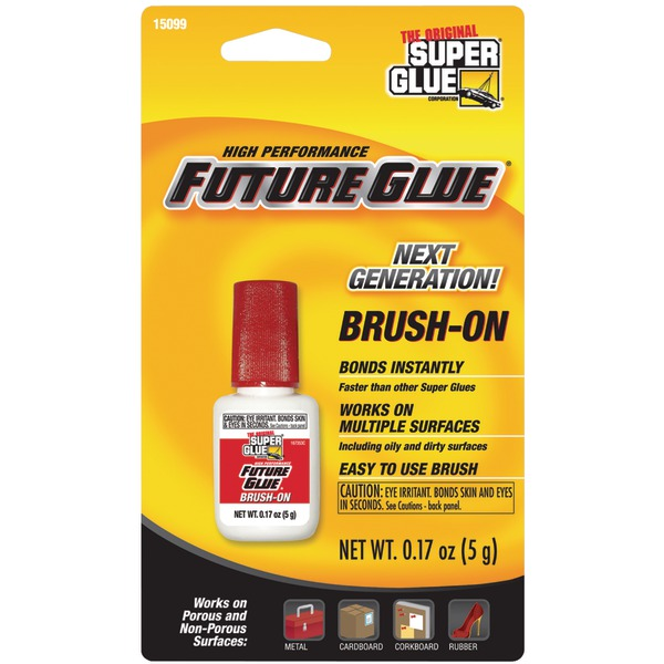 The Original SuperGlue(R) 15099 Brush-on Future Glue(R)
