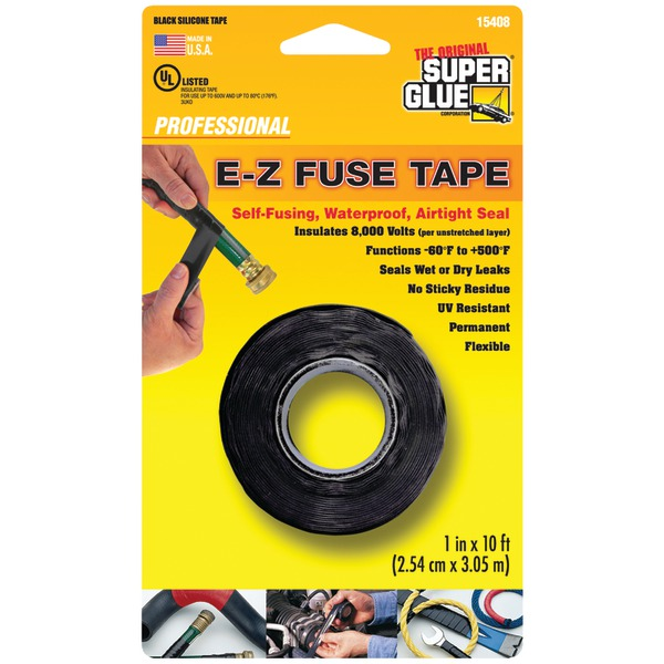 The Original SuperGlue(R) 15408 E-Z Fuse Tape, 10ft