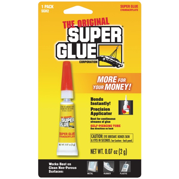The Original SuperGlue(R) SGH2-12 Super Glue Tube (Single Pack)