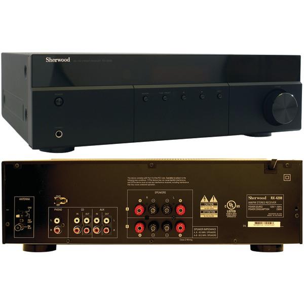 Sherwood(R) RX-4208 200-Watt AM/FM Stereo Receiver